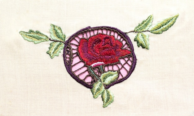Handmade embroidery folk arts and crafts