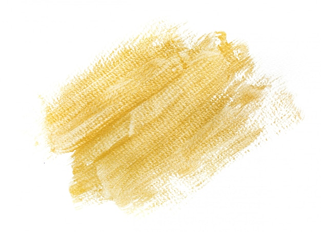Handmade gold strokes background