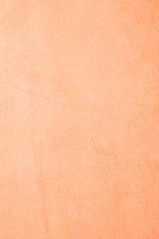 Handmade mulberry paper orange color.