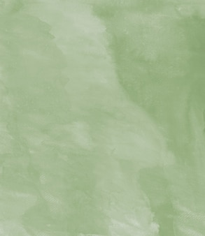 Органическая акварель ручной работы пастельно-зеленая текстура абстрактный фон нанимает файл сканирования
