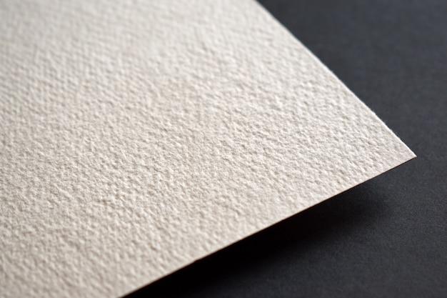 Бумажная текстура ручной работы крупным планом