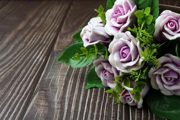 Мыло ручной работы в виде букета роз, отличный подарок на день рождения или другое торжество