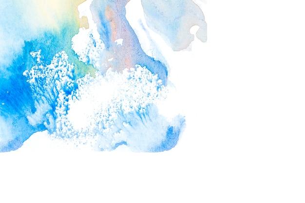 Handmade texture on white background