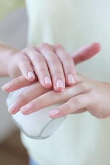 Hands close-up
