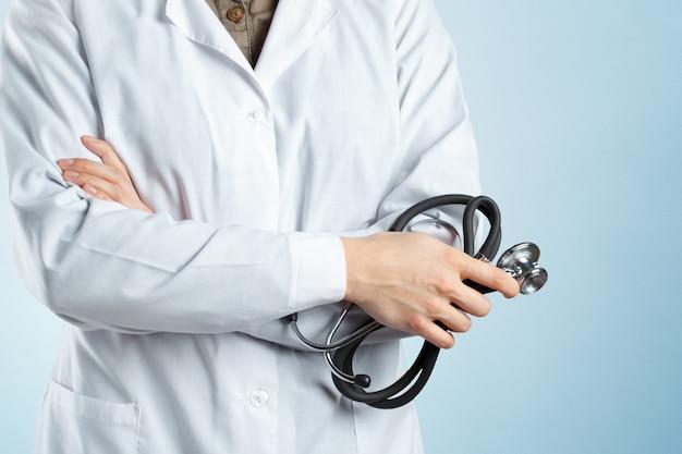 Hands of medical doctor
