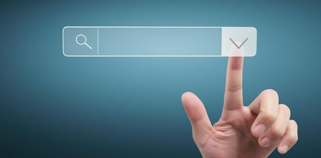 손 터치 버튼 화면 인터페이스 글로벌 연결 고객 네트워킹 데이터 교환