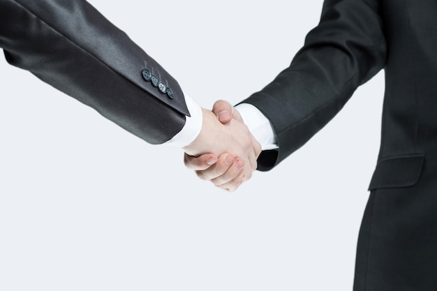 Handshake business people the concept of cooperation