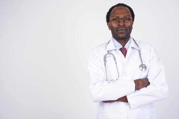 ハンサムなアフリカ人医師
