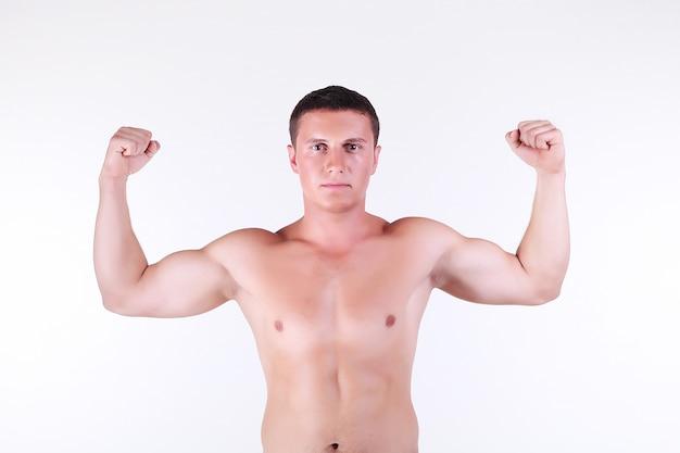 Handsome guy torso