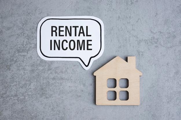 필기 : 임대 수입 및 목조 주택 입상.