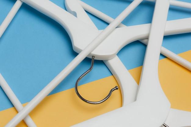 Hangers/ white wooden hangers