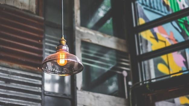 Hanging ceiling brightening lamp light
