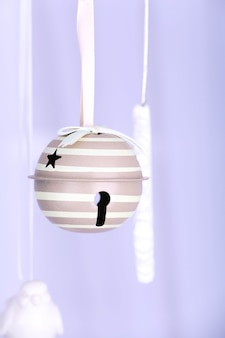 Hanging christmas toys
