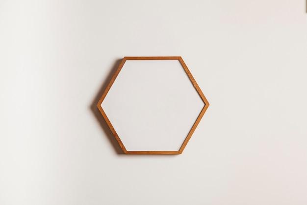ハンギング六角形のフレーム
