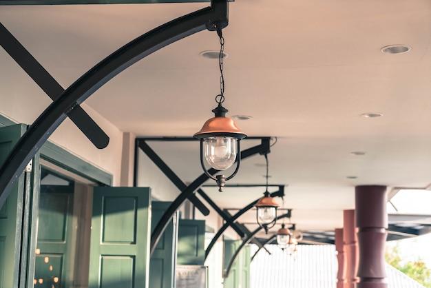 Висячая лампа