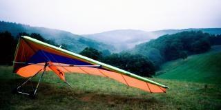 Hangliding  delta