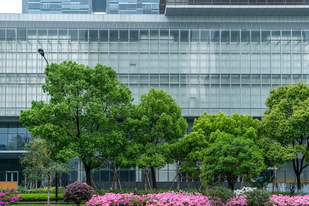 Ханчжоу финансовый район плаза современная часть здания