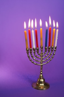 Candeliere hanukkah