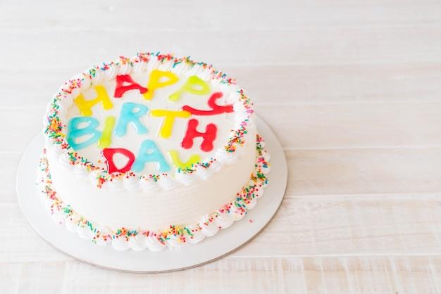 ハッピーバースデーケーキ