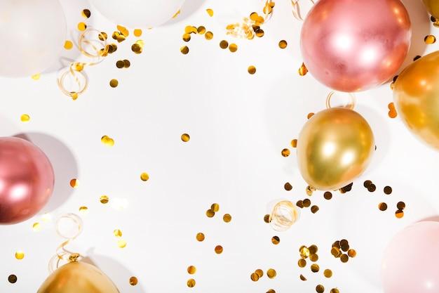 С днем рождения или вечеринка фон
