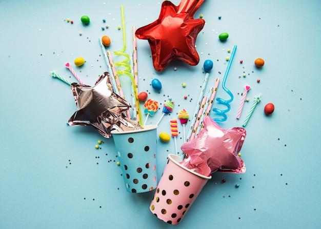 생일 또는 파티 배경