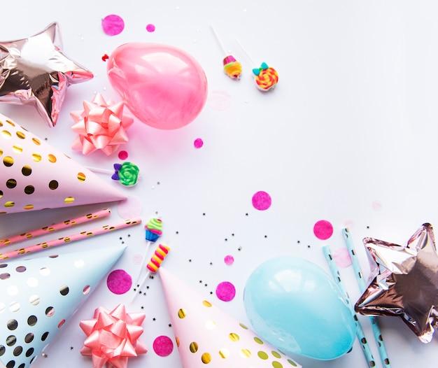幸せな誕生日やパーティーの背景
