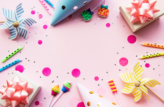 Happy birthday or party background