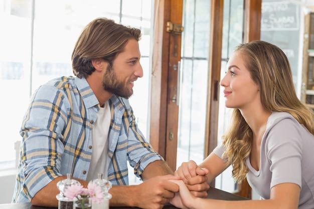 Счастливая пара на свидании