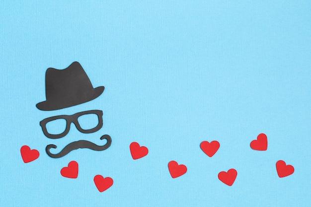 幸せな父の日のグリーティングカードのチラシ、招待状、お祝いまたはポスター