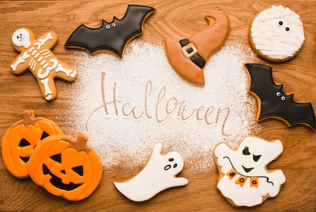 Happy halloween elements design