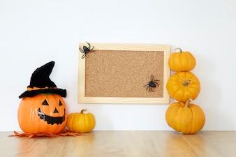 Happy Halloween wood board decoration
