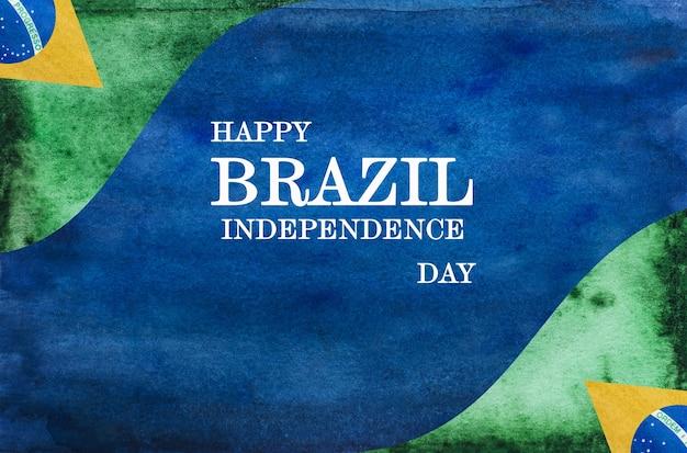 Счастливого дня независимости. красивая открытка. крупным планом