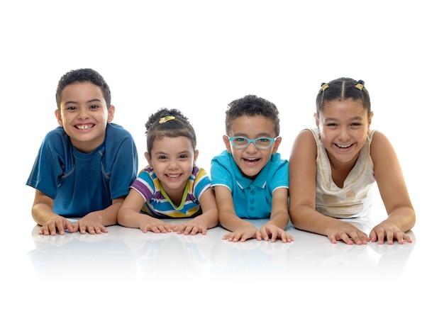 Группа happy kids крупным планом