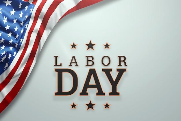 Happy labor day banner.
