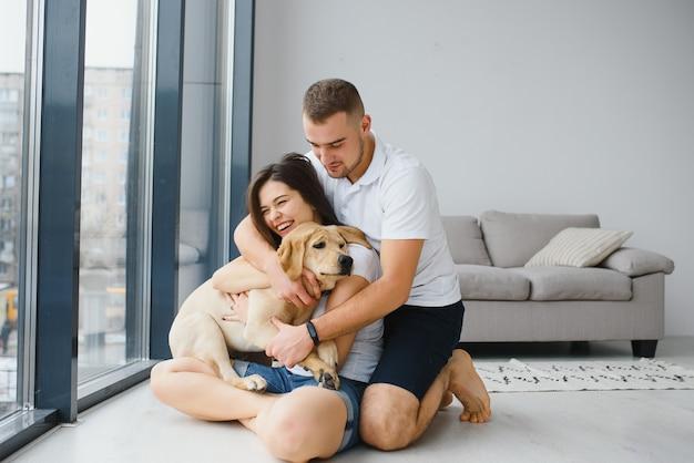 Happy loving family concept