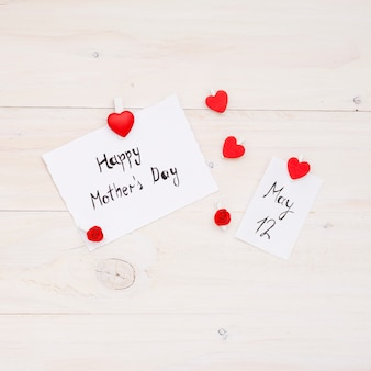 Happy mothers day and 12 may inscriptions