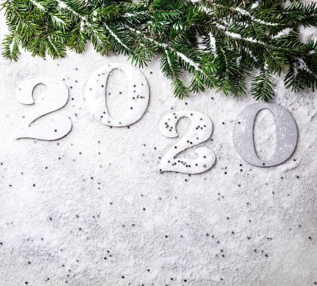Идея happy new year 2020.красивая праздничная открытка.