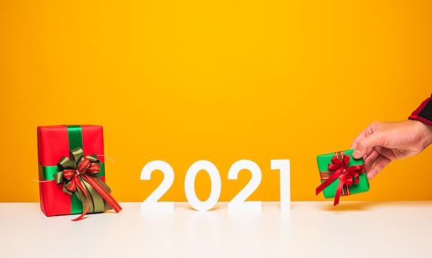 ギフトボックス付き新年あけましておめでとうございます2021番号