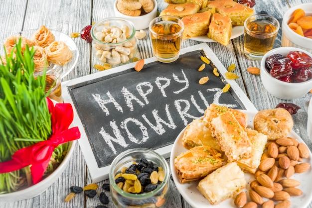 Happy nowruz holiday background