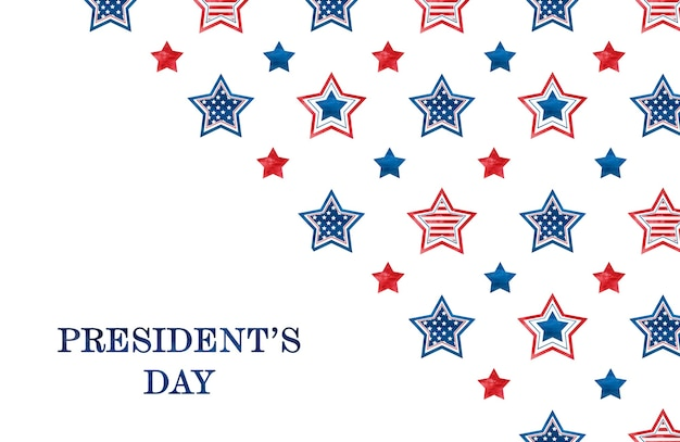 С днем президентов. поздравительная надпись к празднику. крупный план, без людей. поздравления родным, близким, друзьям и коллегам