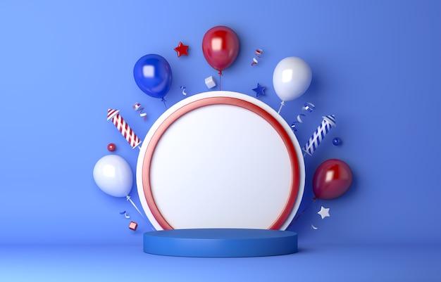 Счастливый русский день украшение фон