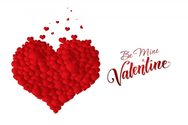 Happy valentine's day festive web banner.