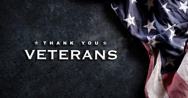 Happy veterans day concept.