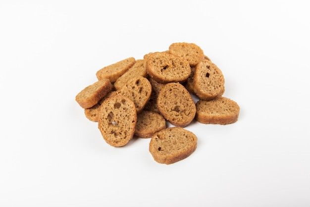 Hard chucks snacks on a white background