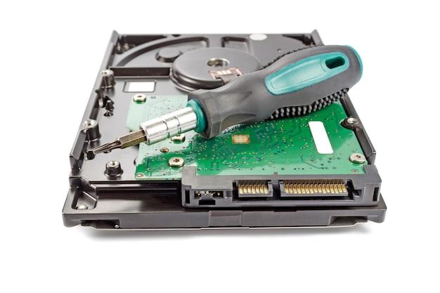 ドライバー付きハードディスクドライブ