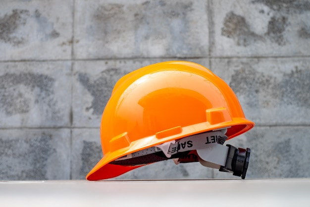 Hard safety helmet hat for safety project ,ppe for work safe