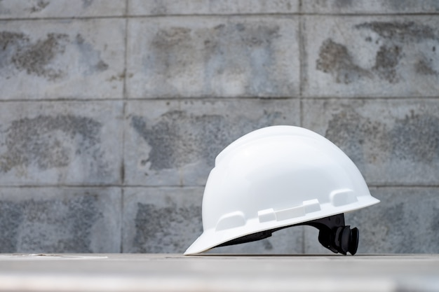 Hard safety helmet hat for safety project ,ppe for work safe.