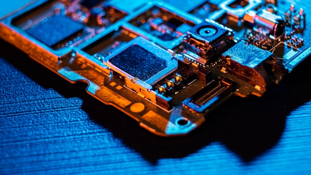 Hardware component background