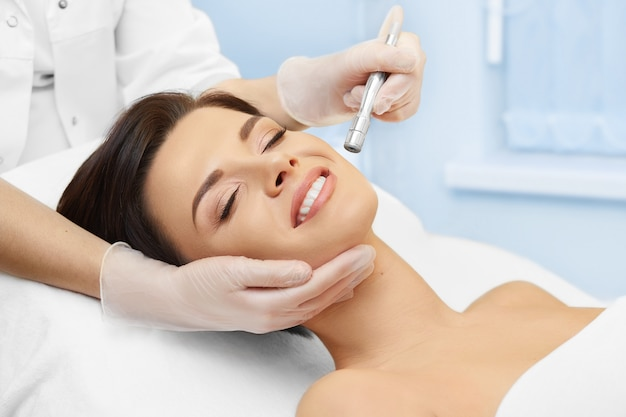 Hardware cosmetology. spa clinic. microdermabrasion. cosmetology.