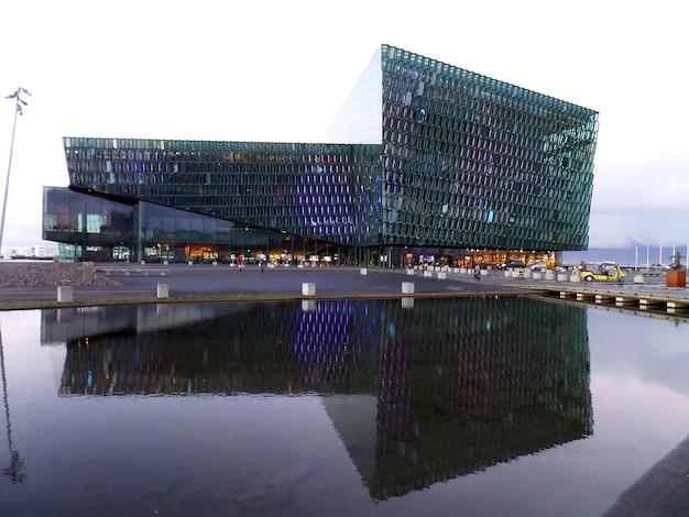 ハルパコンサートホールとカンファレンスセンター、レイキャビクの素晴らしいランドマーク、アイスランド